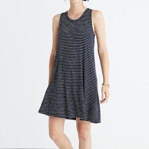 Madewell Sz S Striped Mini Dress EUC